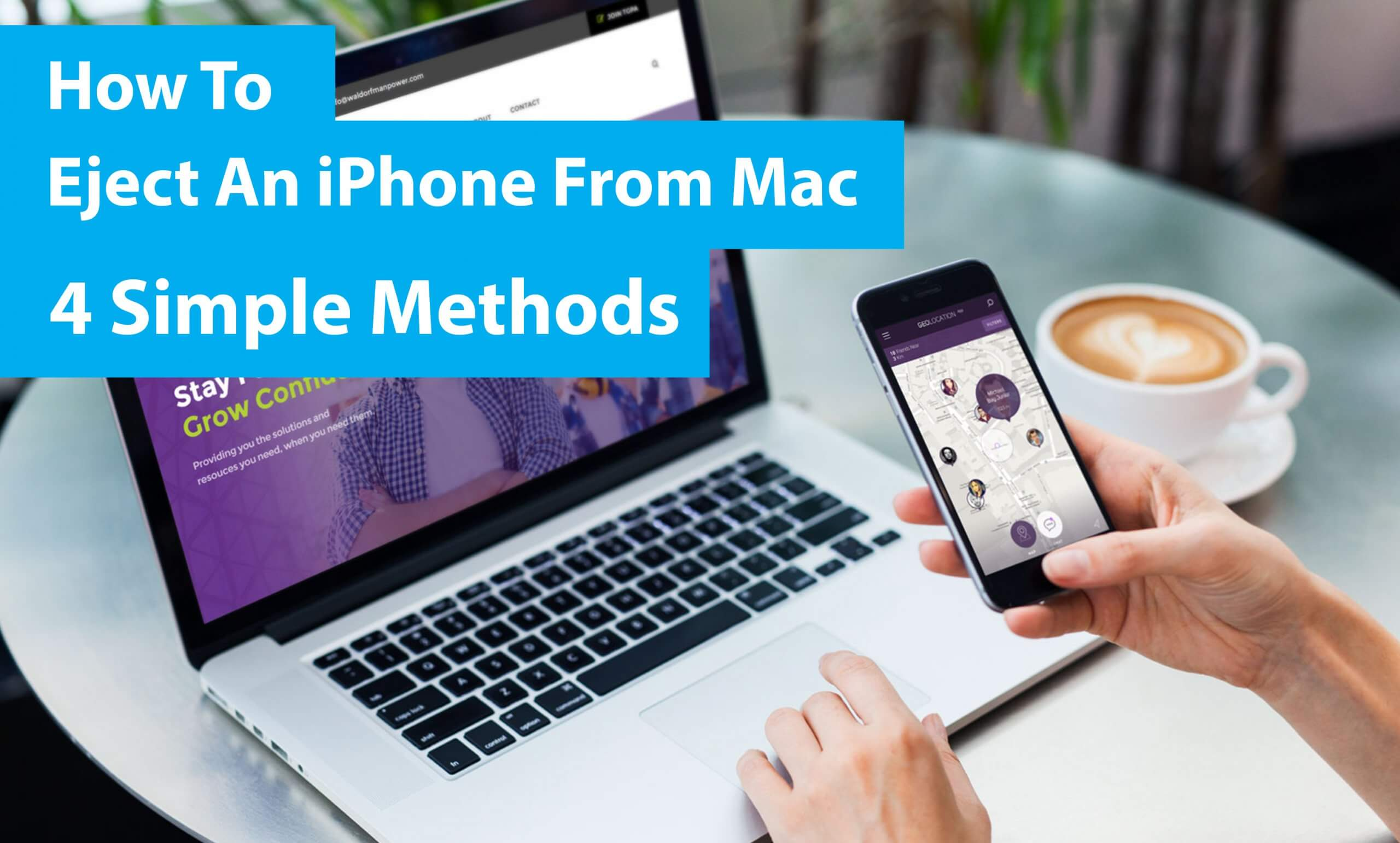 How To Eject An iPhone From Mac