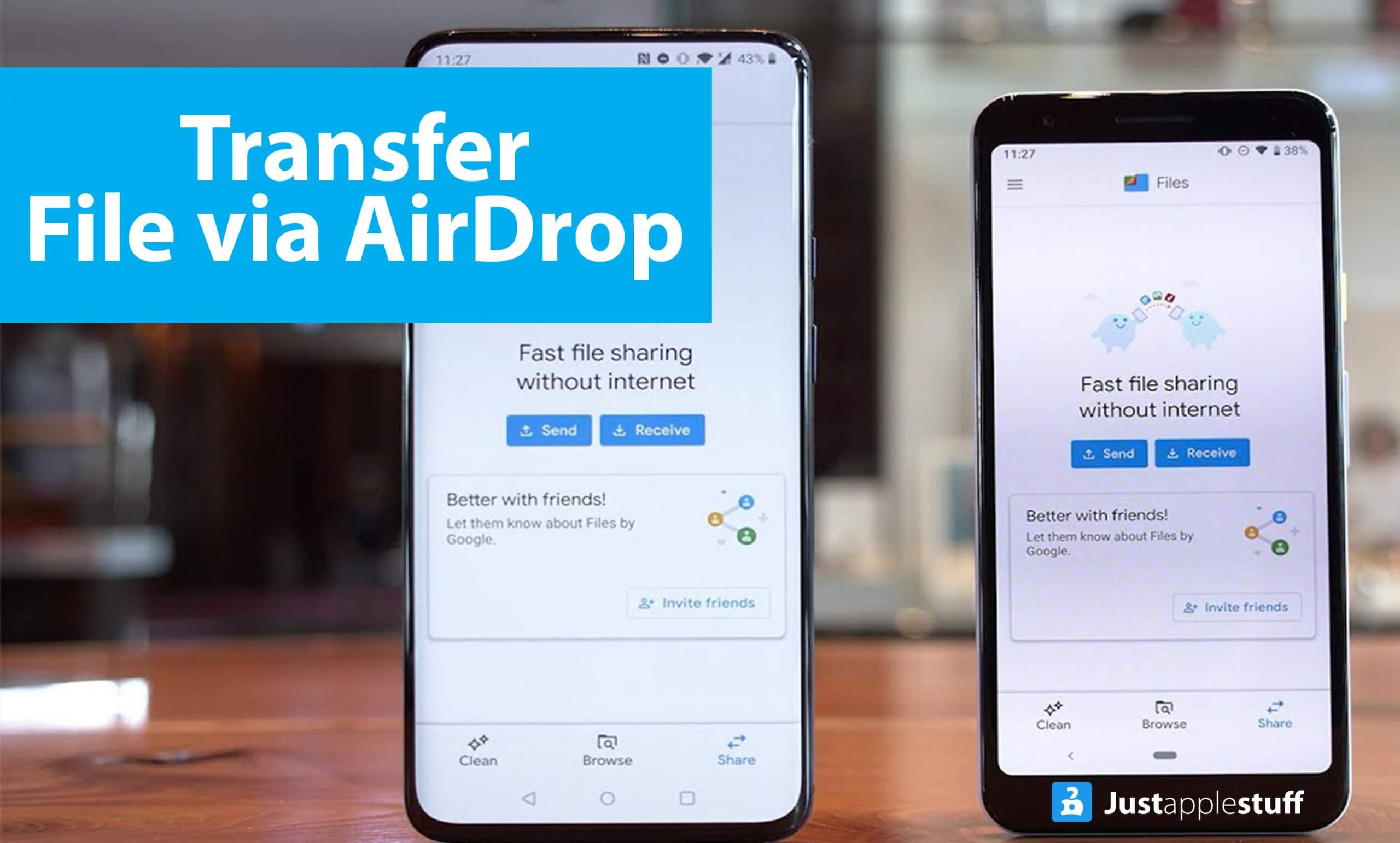 How to Transfer File via AirDrop