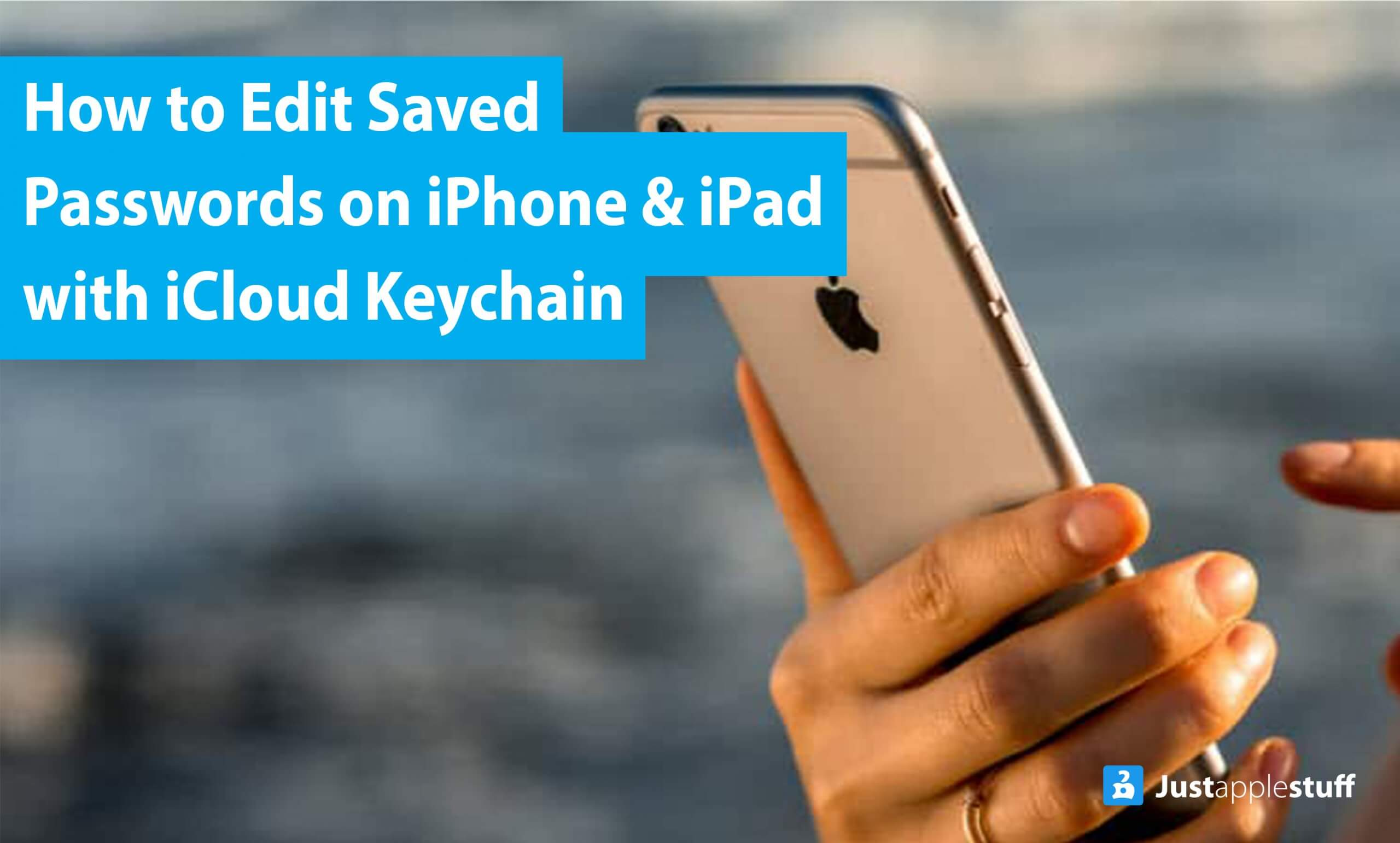 How to Edit Saved Passwords on iPhone & iPad with iCloud Keychain