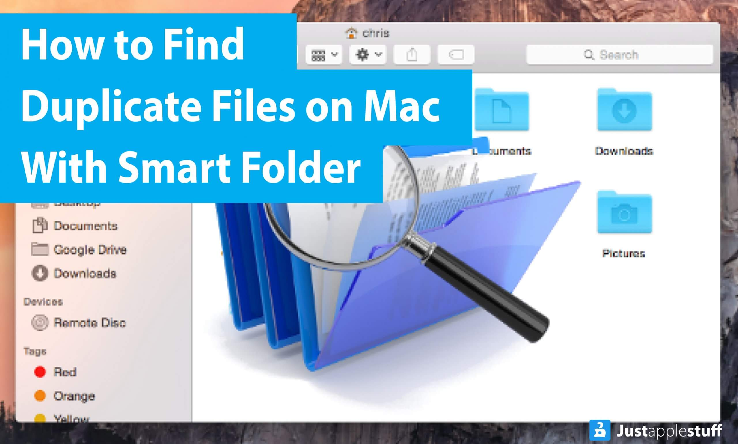 How to Find Duplicate Files on Mac With Smart Folder