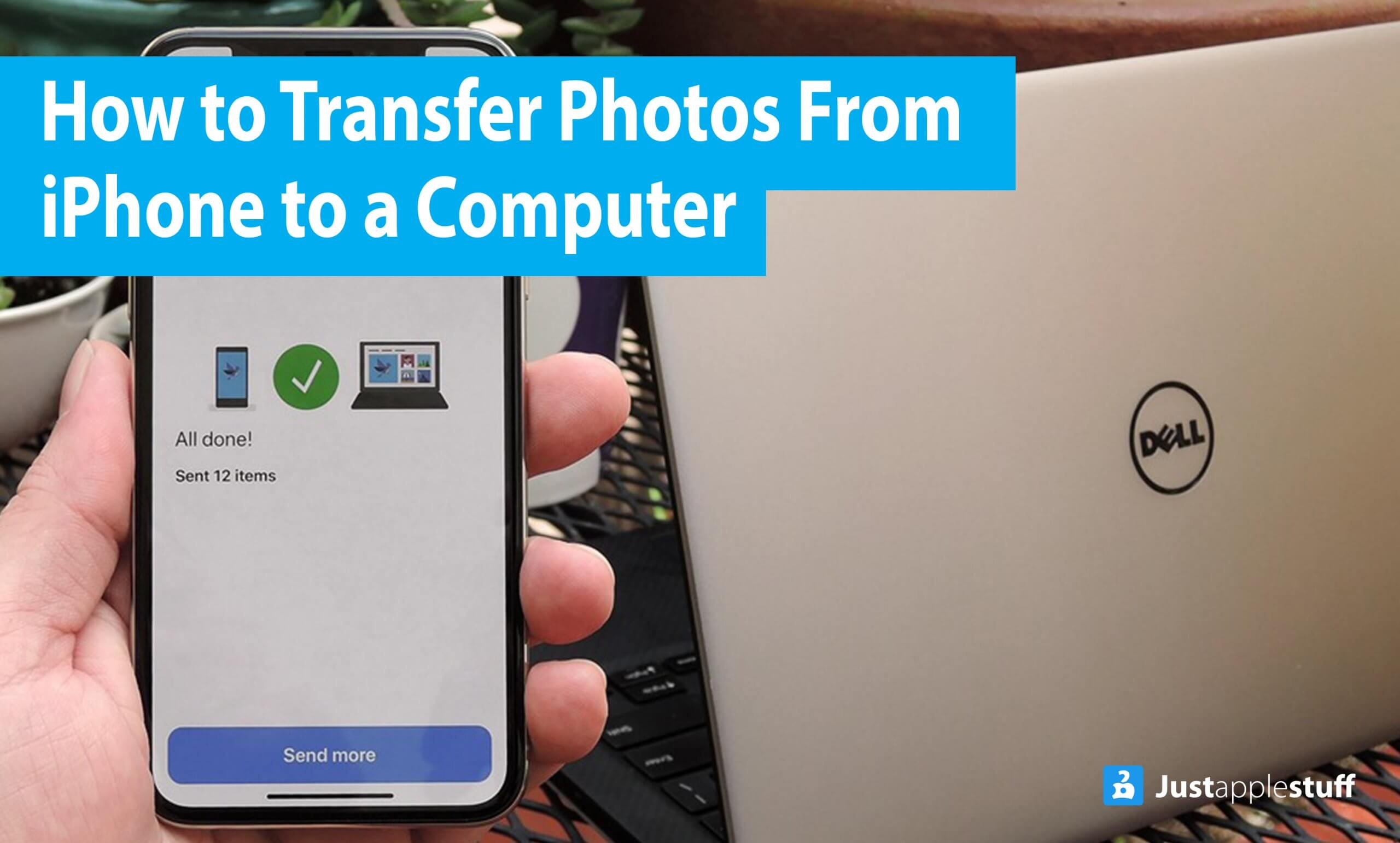 How to transfer photos from iPhone to a computer without the help of iTunes