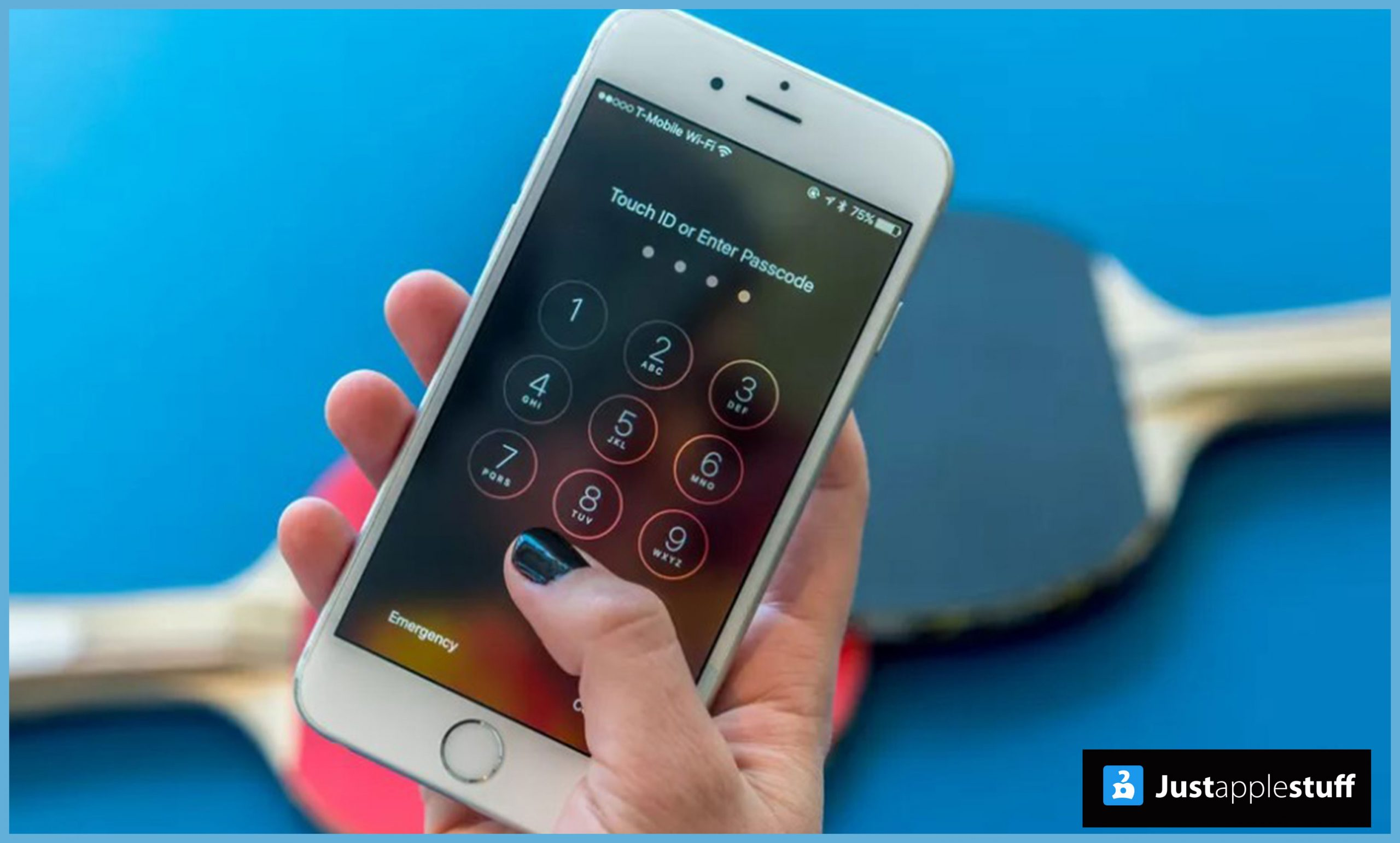 How to change the password on iphone