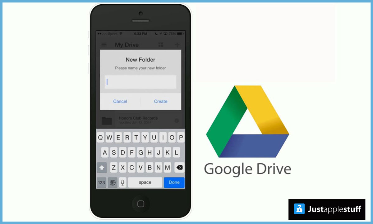 Upload Photos to Google Drive From iPhone